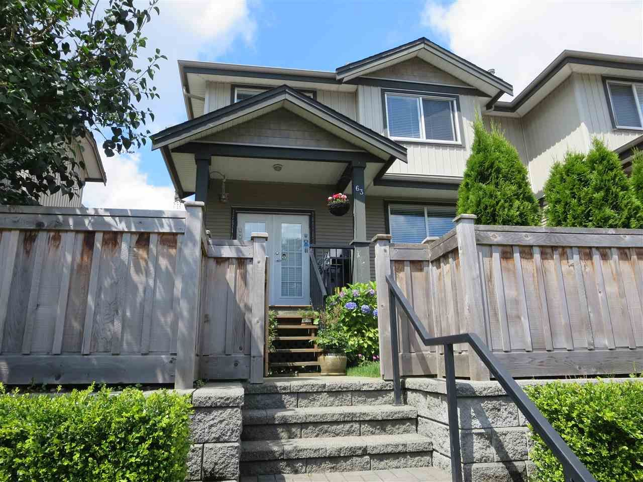 Walk into your new home from the street into your private fenced front yard.