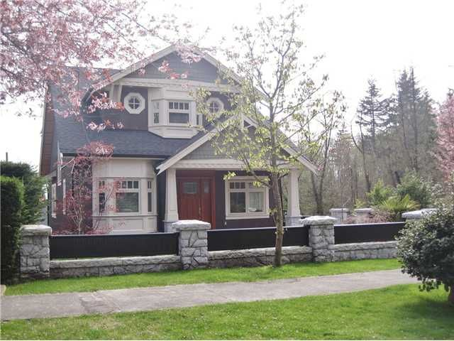 Main Photo: 4098 W 34TH Avenue in Vancouver: Dunbar House for sale (Vancouver West)  : MLS®# V958700