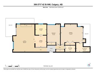 Photo 23: 308 3717 42 Street NW in Calgary: Varsity Apartment for sale : MLS®# A1105882