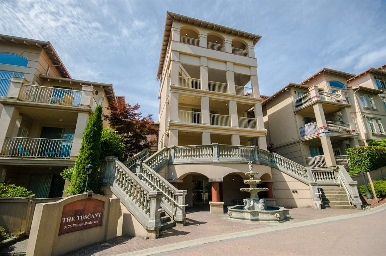 """Main Photo: 111 3176 PLATEAU Boulevard in Coquitlam: Westwood Plateau Condo for sale in """"THE TUSCANY"""" : MLS®# R2187707"""