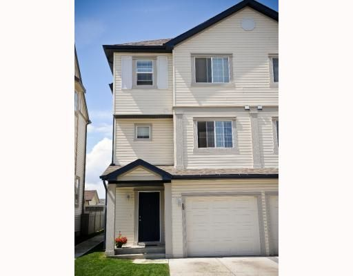 Main Photo: 25 COPPERFIELD Court SE in CALGARY: Copperfield Townhouse for sale (Calgary)  : MLS®# C3383561