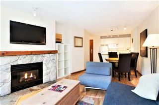 """Photo 3: 101 4800 SPEARHEAD Drive in Whistler: Benchlands Condo for sale in """"The Aspens"""" : MLS®# R2623932"""