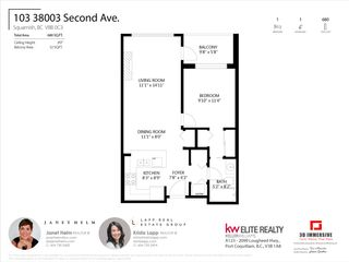"""Photo 25: 103 38003 SECOND Avenue in Squamish: Downtown SQ Condo for sale in """"Squamish Pointe"""" : MLS®# R2520650"""