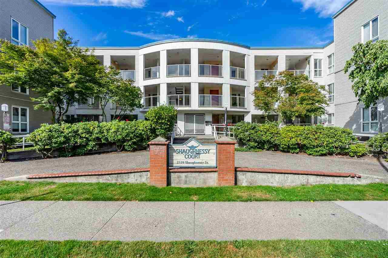 """Main Photo: 206 2339 SHAUGHNESSY Street in Port Coquitlam: Central Pt Coquitlam Condo for sale in """"SHAUGHNESSY COURT"""" : MLS®# R2430185"""