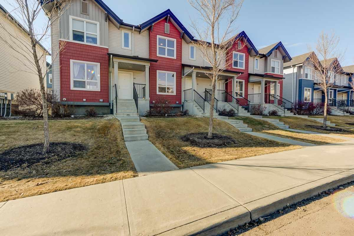Main Photo: 46 6075 SCHONSEE Way in Edmonton: Zone 28 Townhouse for sale : MLS®# E4236770