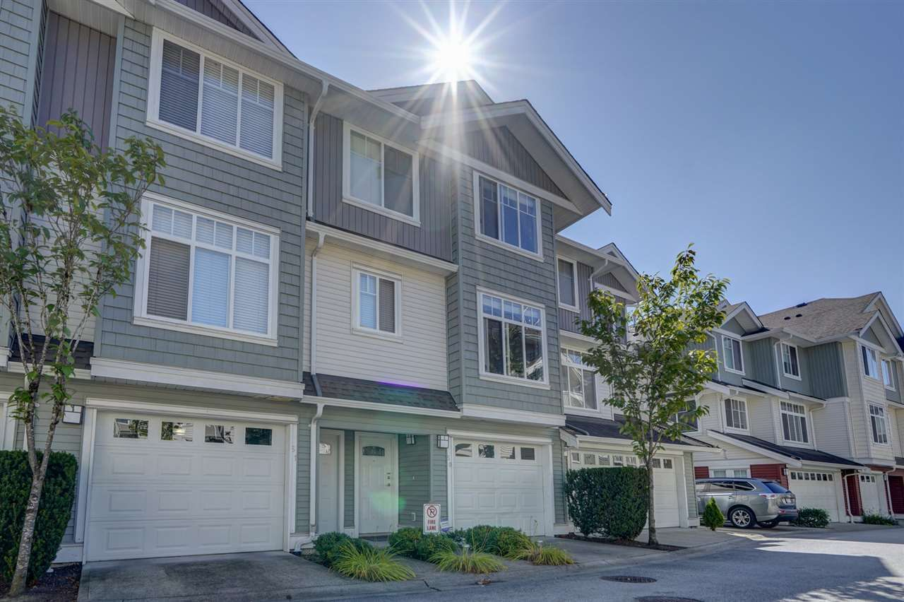 """Main Photo: 50 19480 66 Avenue in Surrey: Clayton Townhouse for sale in """"TWO BLUE II"""" (Cloverdale)  : MLS®# R2490979"""