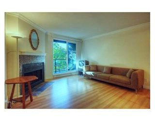 Photo 3: # 301 1550 BARCLAY ST in Vancouver: Condo for sale : MLS®# V855419