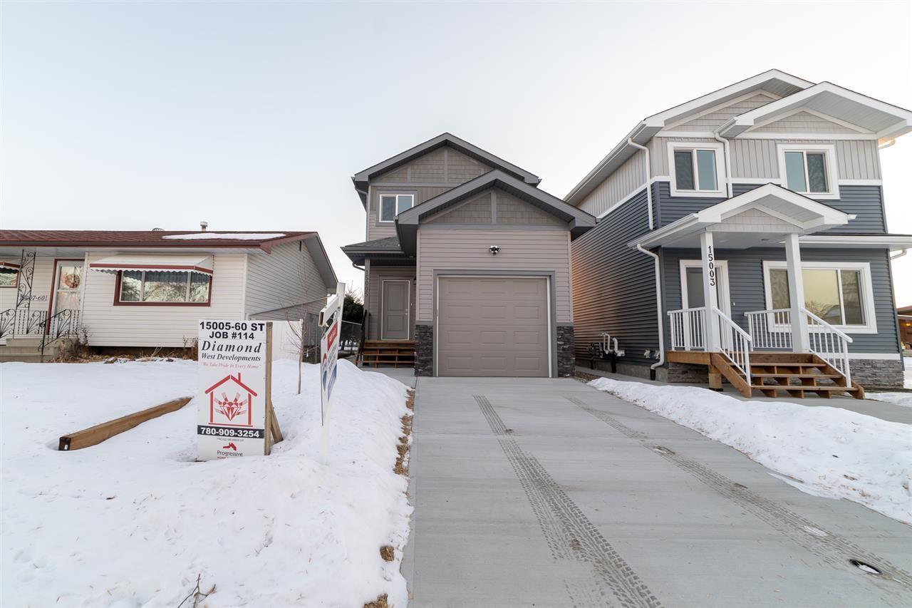 Main Photo: 15005 60 Street in Edmonton: Zone 02 House for sale : MLS®# E4238554