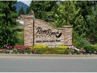 """Photo 1: 18 14550 MORRIS VALLEY Road in Mission: Lake Errock Land for sale in """"River Reach Estates"""" : MLS®# R2438047"""