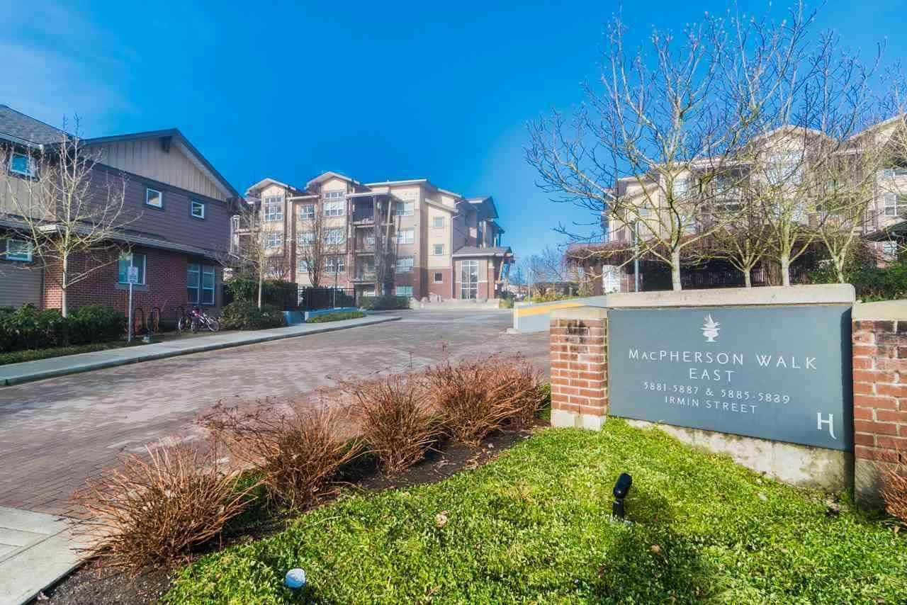 Main Photo: 101 5889 IRMIN Street in Burnaby: Metrotown Condo for sale (Burnaby South)  : MLS®# R2576157