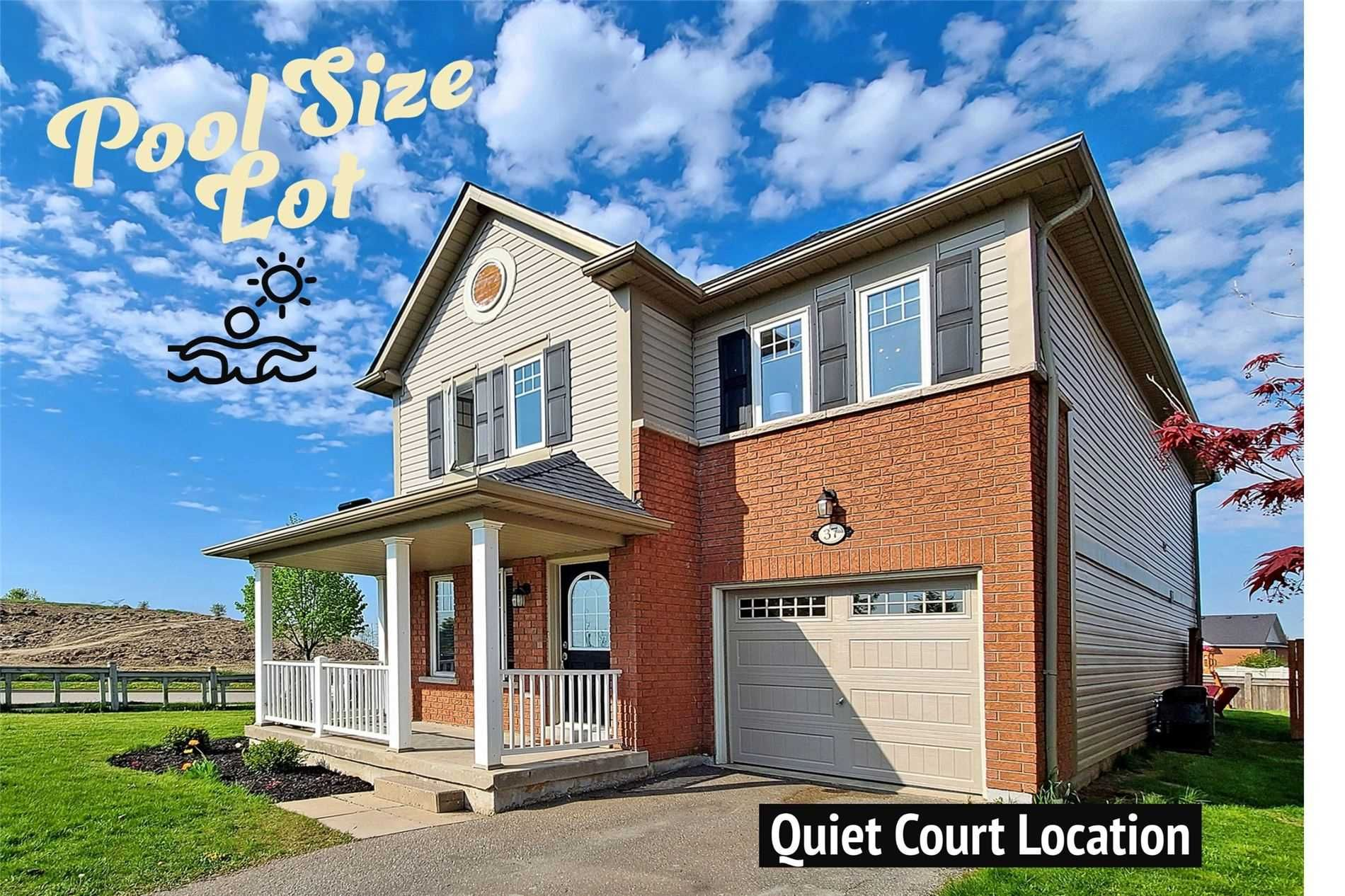 Main Photo: 37 Settler's Court in Whitby: Brooklin House (2-Storey) for sale : MLS®# E5244489