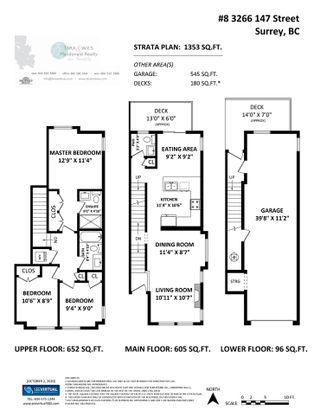 "Photo 28: 8 3266 147 Street in Surrey: Elgin Chantrell Townhouse for sale in ""ELGIN OAKS"" (South Surrey White Rock)  : MLS®# R2504604"