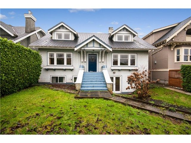 Main Photo: 3686 Point Grey Road in Vancouver: House for sale : MLS®# V1110474