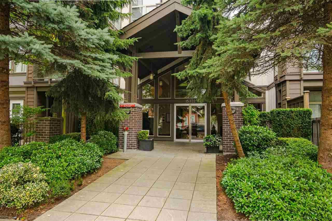 """Main Photo: 412 15322 101 Avenue in Surrey: Guildford Condo for sale in """"ASCADA"""" (North Surrey)  : MLS®# R2556343"""