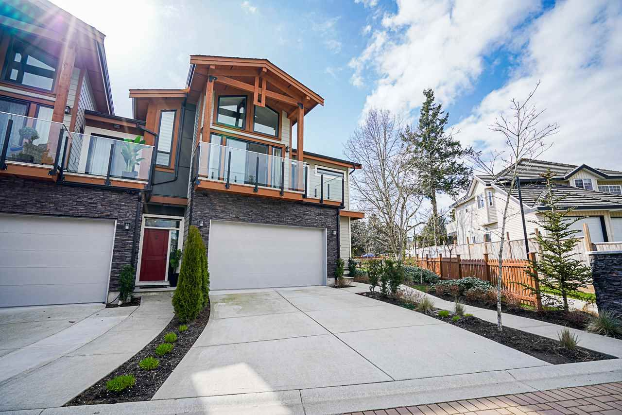 "Main Photo: 1 1454 162B Street in Surrey: King George Corridor Townhouse for sale in ""marca"" (South Surrey White Rock)  : MLS®# R2558410"