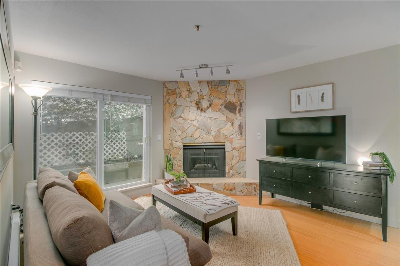 "Main Photo: 102 2295 PANDORA Street in Vancouver: Hastings Condo for sale in ""Pandora Gardens"" (Vancouver East)  : MLS®# R2542611"