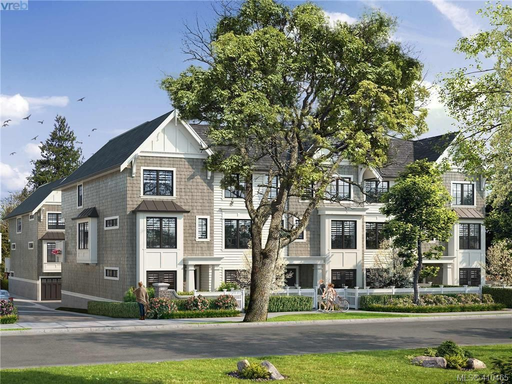 Main Photo: TH11 1810 Kings Rd in VICTORIA: Vi Jubilee Row/Townhouse for sale (Victoria)  : MLS®# 813572