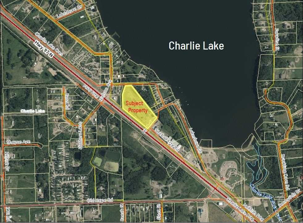 Main Photo: 13076 FIREHALL Road: Charlie Lake Land Commercial for sale (Fort St. John (Zone 60))  : MLS®# C8038634