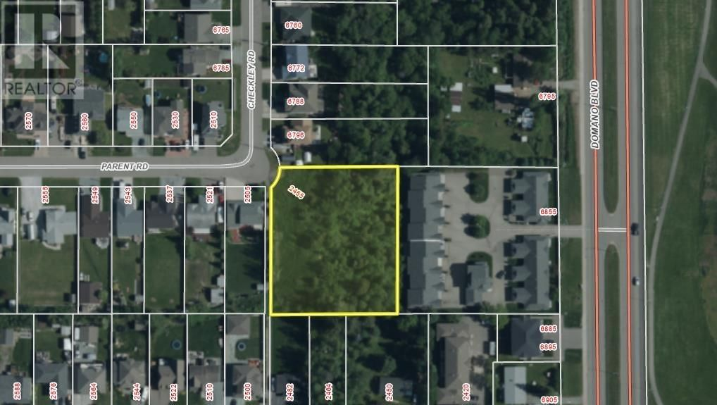 Main Photo: 2455 PARENT ROAD in Prince George: Vacant Land for sale : MLS®# R2548505