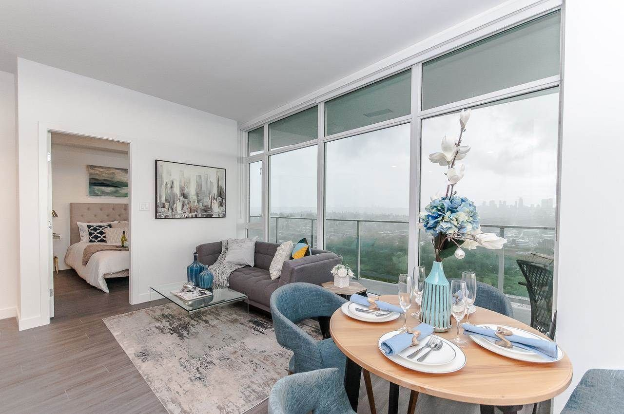 """Main Photo: 3501 2311 BETA Avenue in Burnaby: Brentwood Park Condo for sale in """"Lumina Waterfall"""" (Burnaby North)  : MLS®# R2582193"""
