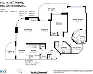 """Photo 32: 802 612 FIFTH Avenue in New Westminster: Uptown NW Condo for sale in """"The Fifth Avenue"""" : MLS®# R2576697"""