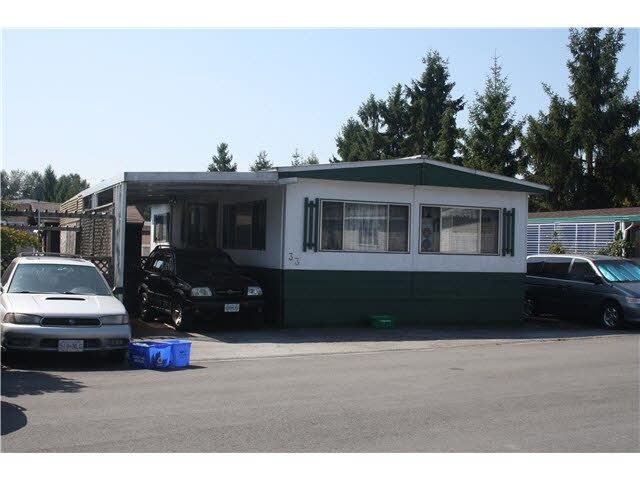 Main Photo: 33 201 CAYER Street in Coquitlam: Central Coquitlam Manufactured Home for sale : MLS®# R2499025