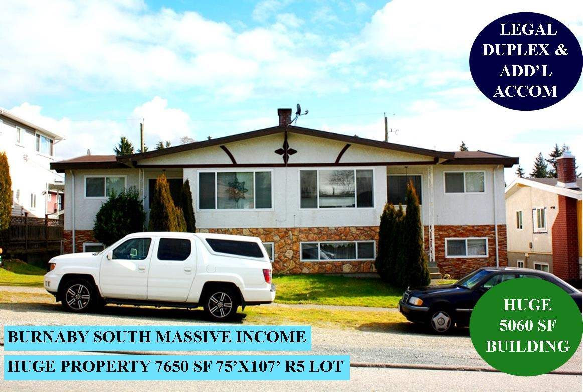 Main Photo: 7642 JOFFRE AVENUE in Burnaby: Suncrest House for sale (Burnaby South)  : MLS®# R2543864