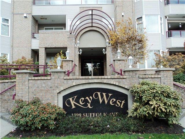 "Main Photo: # 309 1999 SUFFOLK AV in Port Coquitlam: Glenwood PQ Condo for sale in ""KEY WEST"" : MLS®# V1035880"