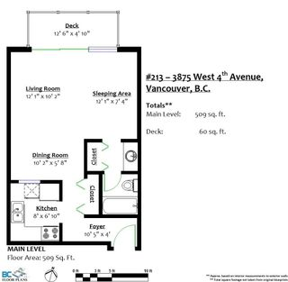 """Photo 20: 213 3875 W 4TH Avenue in Vancouver: Point Grey Condo for sale in """"LANDMARK JERICHO"""" (Vancouver West)  : MLS®# R2225317"""