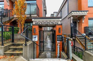 "Photo 1: 206 828 ROYAL Avenue in New Westminster: Downtown NW Townhouse for sale in ""BRICKSTONE WALK"" : MLS®# R2222014"
