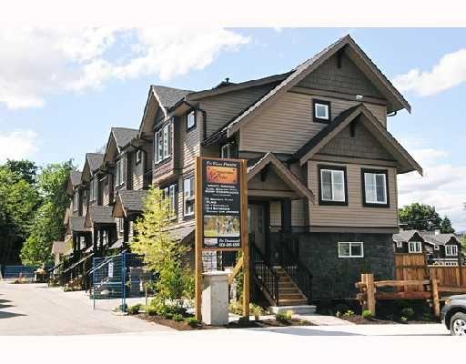 "Main Photo: 9 22206 124 Avenue in Maple_Ridge: West Central Townhouse for sale in ""COPPERSTONE RIDGE"" (Maple Ridge)  : MLS®# V742093"