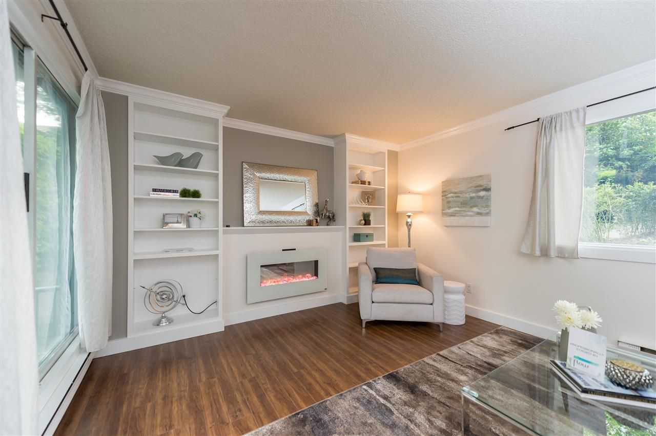 Main Photo: 107 1508 MARINER WALK in : False Creek Condo for sale (Vancouver West)  : MLS®# R2068776