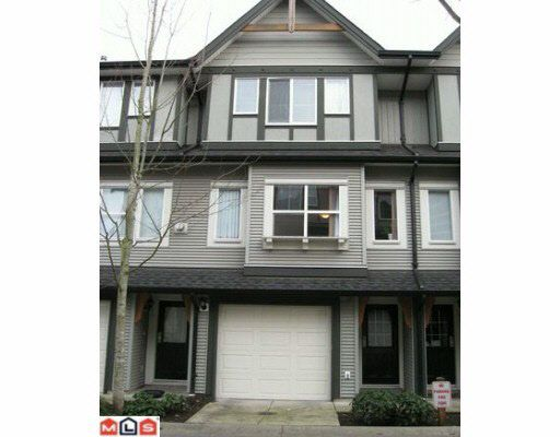 Main Photo: 41 8737 161ST STREET in : Fleetwood Tynehead Townhouse for sale : MLS®# F1002072