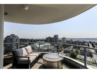 """Photo 1: 2203 739 PRINCESS Street in New Westminster: Uptown NW Condo for sale in """"BERKLEY PLACE"""" : MLS®# V1125945"""