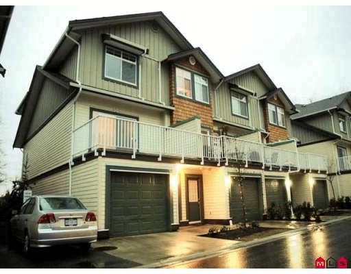 """Main Photo: 50 16588 FRASER Highway in Surrey: Fleetwood Tynehead Townhouse for sale in """"Castle Pines"""" : MLS®# F2805368"""