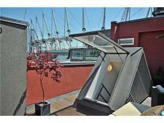 """Photo 9: PH1 869 BEATTY Street in Vancouver: Downtown VW Condo for sale in """"THE HOOPER BUILDING"""" (Vancouver West)  : MLS®# V888505"""