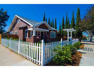 Photo 1: NORTH PARK House for sale : 2 bedrooms : 2639 University Avenue in San Diego