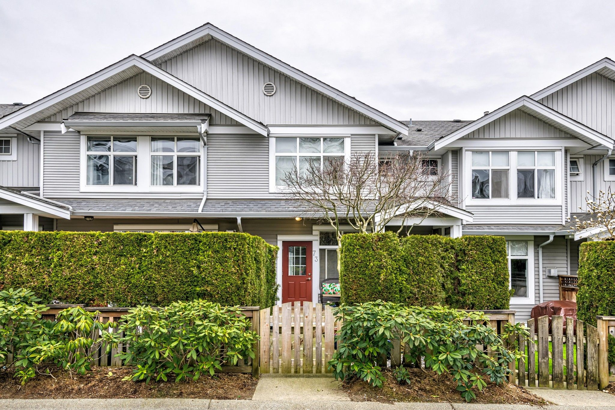 Main Photo: 73 20449 66th Avenue in Langley: Willingdon Heights Townhouse for sale : MLS®# R2558309