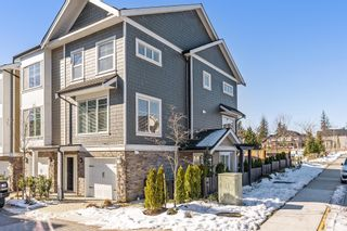 "Photo 1: 36 21150 76A Avenue in Langley: Willoughby Heights Townhouse for sale in ""HUTTON"" : MLS®# R2343680"