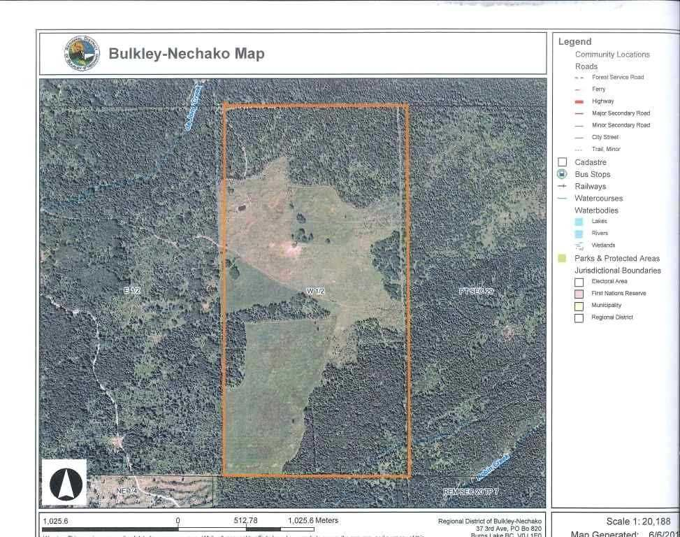"""Main Photo: DECEPTION LAKE FOREST SERVICE ROAD: Telkwa Land for sale in """"WOODMERE"""" (Smithers And Area (Zone 54))  : MLS®# R2398092"""