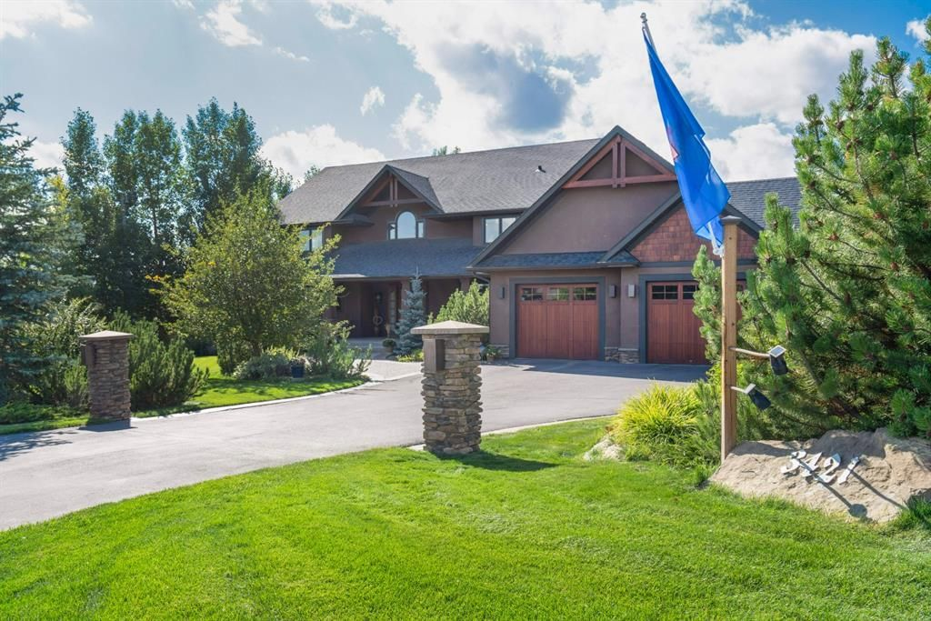 The lifestyle you have been waiting for! – Welcome to this stunning property, perfectly positioned on 2.22 acres in coveted location in Springbank Hill!