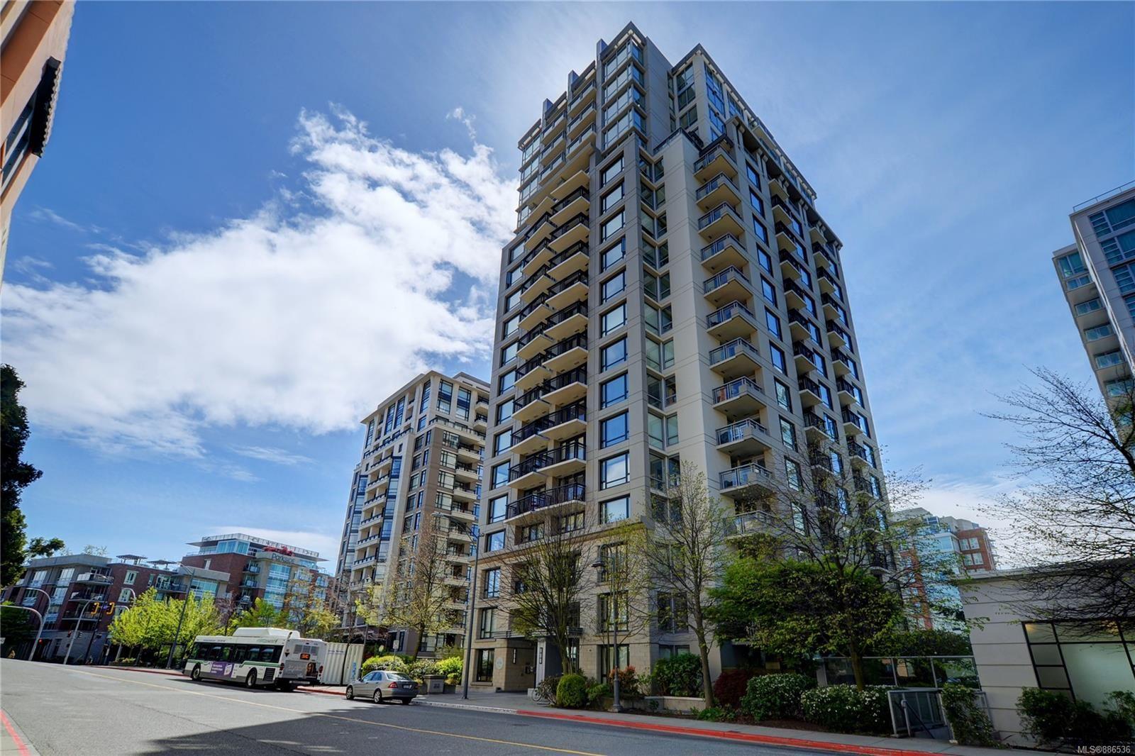 Main Photo: 603 751 Fairfield Rd in Victoria: Vi Downtown Condo for sale : MLS®# 886536