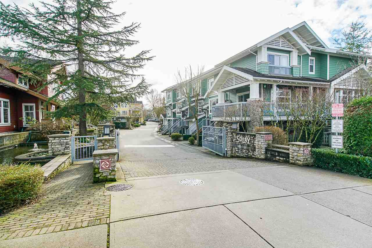 "Main Photo: 163 15168 36 Avenue in Surrey: Morgan Creek Townhouse for sale in ""Solay"" (South Surrey White Rock)  : MLS®# R2534256"