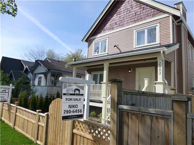 Main Photo: 2053 E 1ST Avenue in Vancouver: Grandview VE 1/2 Duplex for sale (Vancouver East)  : MLS®# V1078049