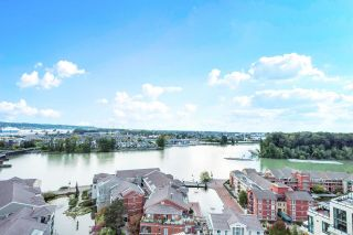 """Photo 1: 1705 1 RENAISSANCE Square in New Westminster: Quay Condo for sale in """"The Q"""" : MLS®# R2623606"""