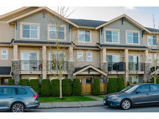 "Photo 1: 35 20966 77A Avenue in Langley: Willoughby Heights Townhouse for sale in ""NATURE'S WALK"" : MLS®# R2531639"
