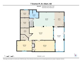 Photo 49: 7 OVERTON Place: St. Albert House for sale : MLS®# E4248931
