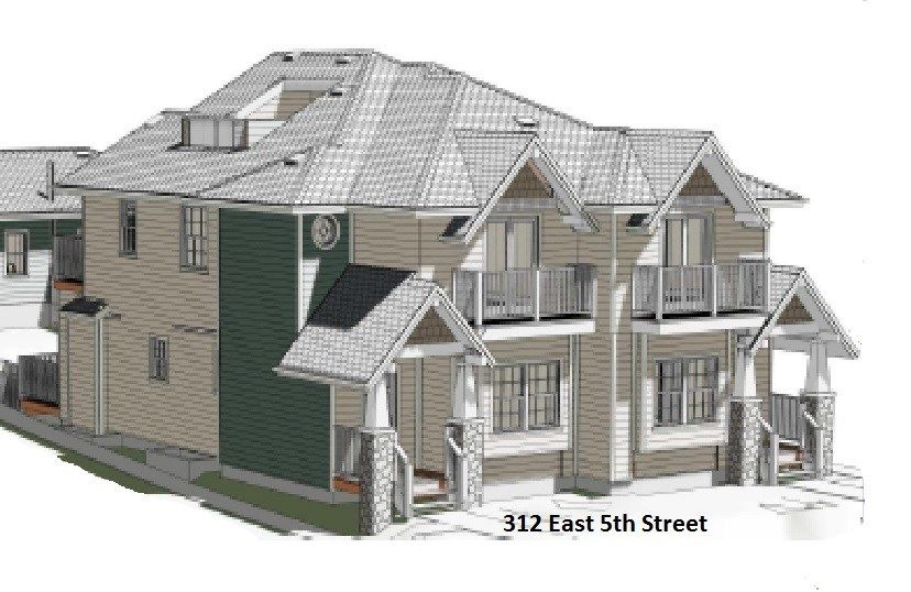 Main Photo: 2 312 E 5TH Street in North Vancouver: Lower Lonsdale 1/2 Duplex for sale : MLS®# R2006819