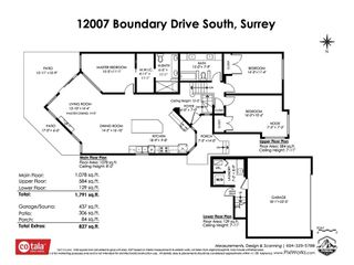 """Photo 2: 12007 S BOUNDARY Drive in Surrey: Panorama Ridge Townhouse for sale in """"Southlake Townhomes"""" : MLS®# R2465331"""