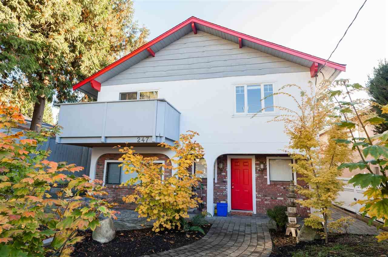 Main Photo: 247 W 23RD Street in North Vancouver: Central Lonsdale House for sale : MLS®# R2218663